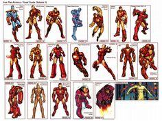 Iron Man Armory- Visual Guide (volume oh yeah! Iron Man Suit, Iron Man Armor, Iron Man Pictures, Marvel Comics, Iron Man Hd Wallpaper, Iron Man Avengers, Comic Art Community, Comic Books Art, Book Art