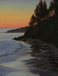 Seascape Paintings, Landscape Paintings, Bolinas Beach, Western Landscape, Marin County, Painter Artist, Oil Painting For Sale, Northern California, Painters