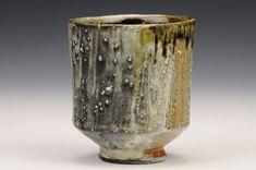 Whiskey Cup by Matthew Schiemann - Handmade Pottery Mug - Porcelain, wheel thrown, soda fired - Functional pottery