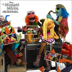 Dr. Teeth and the Electric Mayhem's Favorite Muppet Movie Moment: This jam session of heavy duty proportions. Can you picture that!?