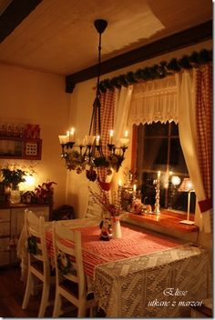 Christmas curtains Julegardiner Kerst gordijnen Do not click on the link--> spam! Just the picture here on pinterest is nice.