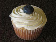 Blueberry Vodka and Lemonade Cupcakes