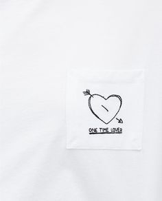 Image 6 of EMBROIDERED T-SHIRT from Zara