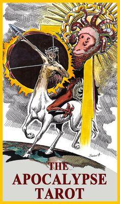 The Tarot of the Apocalypse tarot deck by TarotApocalypse on Etsy, zł95.00