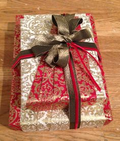 Couture Gift Wrap by Renee Goetz