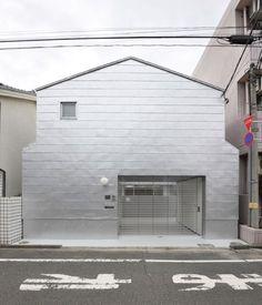 Kazunari Sakomoto. Machiya in Daita. 1976. 'House type' gabled form.