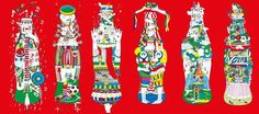 Coca cola Portugal Benfica outdoor illustration award