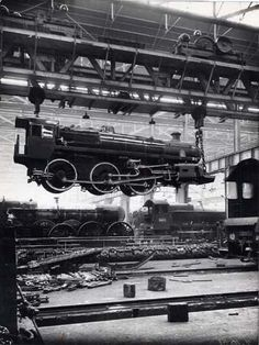 Swindon Railway Works. Two of my great grandfathers worked here