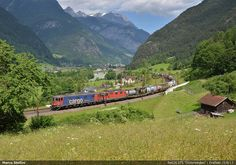 Re620.075 Swiss Railways, Electric Locomotive, Trains, Mountains, Nature, Italia, Naturaleza, Nature Illustration, Outdoors