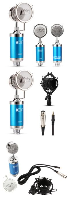 Tonor TN12000480BU XLR Condenser Microphones Style, Swag, Outfits