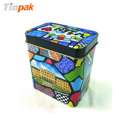 Tea tin can Mini tea tin can meets food grade and is suitable  for herbal tea storage.