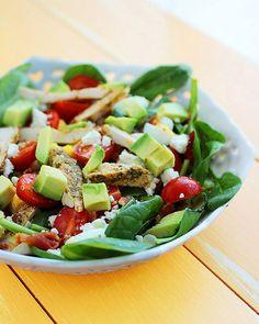 33. California Cobb Salad #beginner #dinner #recipes http://greatist.com/eat/healthy-dinner-recipes-for-beginners