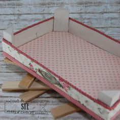 Hobby di Carta - Il blog: Come vi trasformo... una cassetta in legno