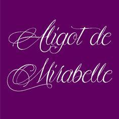 Aligot de Mirabelle   Dafont