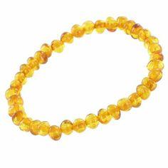 Bracelet d'Ambre bébé perles (13 cm)