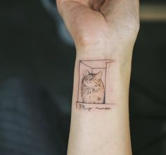 Cat Tattoo by soltattoo