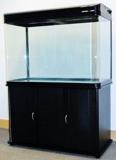 250L Cabinet Aquarium Fish Tank Tropical / Marine 100cm 3.3ft + T5 Lighting New