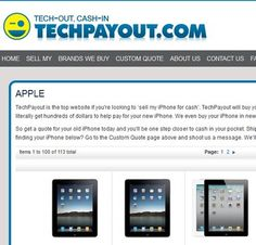 TechPayout.com puts cash in your pocket for old gadgets and devices