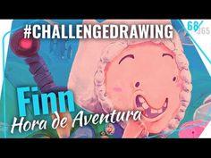 #DRAWINGCHALLENGE Finn (Hora de Aventura) FRANCIS DE CRISTO