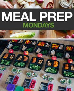 Week 5- Almost every weekend Social Media Specialist Amanda Meixner preps her meals. This week she is following the portion plan for 21 Day Fix EXTREME. In order to maintain her weight, she falls in the 1,800-2,099 calorie bracket. Of course, it's not necessary to prepare this much food at once, but Amanda does it to save herself time later in the week. If you do your meal planning on Sunday, save these for next week! #MealPrep #MealPrepMondays #MealPlanning #Recipes #HealthyEating