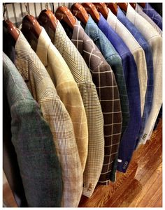 Sportcoats & Softcoats by Peter Millar, Oxxford, Polo Blue Label, Luciano Barbera, Southwick, RNG, Tombolini & more in a variety of sizes.