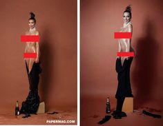 הפטריה | חן טל מחקה את קים קרדשיאן בסדרת תמונות חדשה