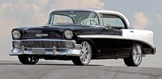 1956 Chevrolet Bel Air - my grandfather had this same exact car when I was growing up.