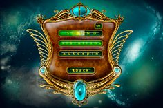 game menu design by ~bestelix on deviantART