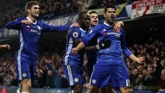 Chelsea boss Antonio Conte insists Diego Costa is 'very happy' at the club and he has called for an end to the speculation linking the forward with a move away from Stamford Bridge.