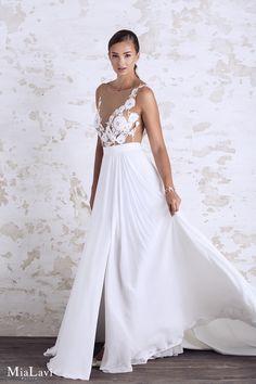 Romantic wedding dress 1703, Mia Lavi 2017