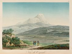size: Giclee Print: Vulcano Cayambe in Region of Quito, Ecuador by Alexander Von Humboldt : Heritage Foundation, Quito Ecuador, Color Theory, Paris, Historical Photos, Framed Artwork, Giclee Print, Around The Worlds, Pictures