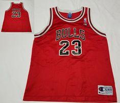 Chicago Bulls Michael Jordan #23 Champion NBA Basketball Jersey Youth XL 18-20 #Champion #ChicagoBulls Jordan 23, Michael Jordan, Basketball Jersey, Chicago Bulls, Champion, Youth, Young Adults, Teenagers