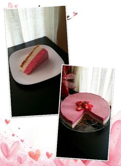 White Chocolate Strawberry Mousse Cake (Mousse de Fresa y Chocolate Blanco )