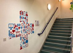 Medical Centre decal by Wall Chimp Pharmacy, Centre, Decals, Stairs, Medical, Wall, Photos, Home Decor, Tags