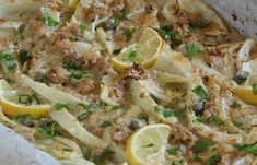 WW Fennel Light Tuna Gratin - Main Course and Recipe Mayonnaise, Weigh Watchers, Vegan Detox, Good Food, Yummy Food, Potato Salad, Food And Drink, Nutrition, Appetizers