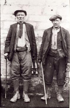 Trabajadores, c. 1900.