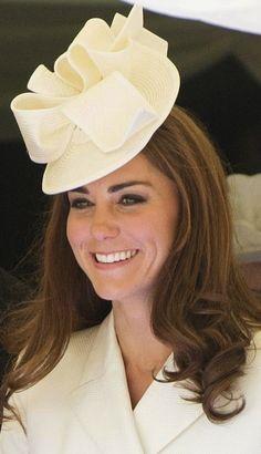 Duchess Catherine's Jane Corbett hat, 2012