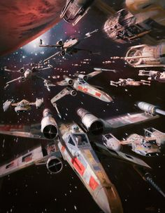 SW Vehicles: T-65 X-Wing Starfighter