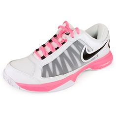 Women`s Zoom Courtlite 3 Tennis Shoes White/Polarized Pink ~ Love, love, love!!