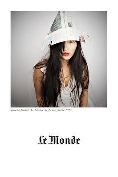Le Monde, Suaena Airault #polaroid #picture #vintage #connectedphotos