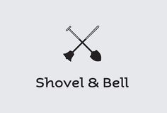 Shovel & Bell - Gelato Shop Restaurant / Design by Singapore-based Manic / identity / branding / logo / clean / quality / gorgeous