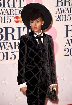 Janelle Monae attends the BRIT Awards 2015 at The O2 Arena on February 25, 2015…