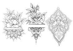 Tattoo history, tattoos with meaning, tattoos for girls, – floral tattoo sleeve Henna Tattoo Hand, Henna Tattoos, Forearm Tattoos, Body Art Tattoos, Sleeve Tattoos, Dragon Tattoos, Stencils Tatuagem, Tattoo Stencils, Mandala Tattoo Design