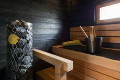 Kastelli Woodpecker - Sauna Saunas, Home And Living, Cottage Ideas, Interiors, Bathroom, Summer, Washroom, Summer Time, Full Bath