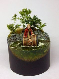 """Bilbo Baggins"" by Darren Latham. #figure_model #vignette"