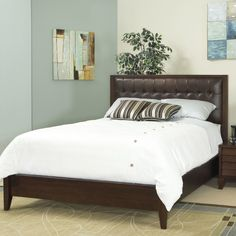 Found it at Wayfair - Island Upholstered Panel Bed