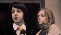 Paul and Linda's reaction to Linda being calling Mrs McCartney for the first time.  so so so fucking cute