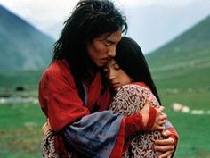 Chang Chen & Zhang Ziyi, Crouching Tiger, Hidden Dragon To some couples, having a row is detrimental to their relationship. To Chen & Ziyi, it's foreplay. Zhang Ziyi, Wabi Sabi, Hugs, Chen, Ang Lee, Romantic Gestures, Movie Couples, Asian Actors, Music Tv