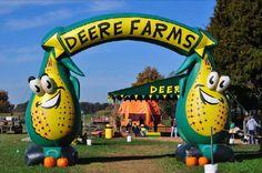 R12 Lanesville (Harrison County) Deere Farms Corn Maze