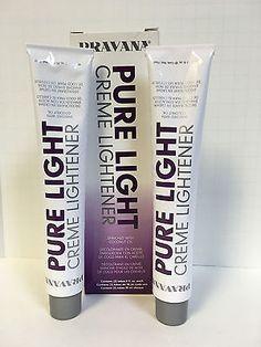Pravana The Perfect Blonde Pure Light Creme Lightener For Blonde Wand 2 x . Pravana The Perfec